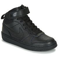 Chaussures Enfant Baskets montantes Nike COURT BOROUGH MID 2 GS Noir
