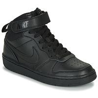 Chaussures Enfant Baskets montantes Nike COURT BOROUGH MID 2 PS Noir