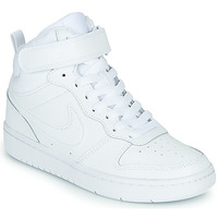 Chaussures Enfant Baskets basses Nike COURT BOROUGH MID 2 PS Blanc