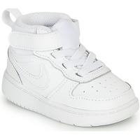 Chaussures Enfant Baskets basses Nike COURT BOROUGH MID 2 TD Blanc