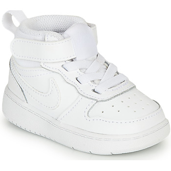 Chaussures Enfant Baskets montantes Nike COURT BOROUGH MID 2 TD Blanc