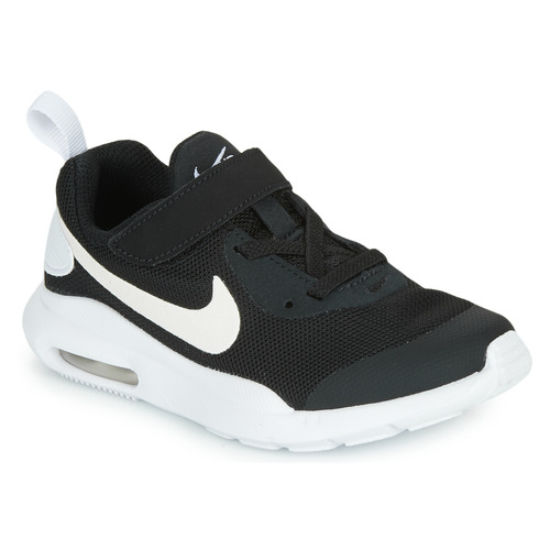 Chaussures Enfant Baskets basses Nike AIR MAX OKETO PS Noir / Blanc