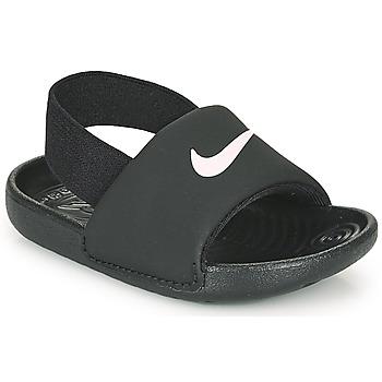 Chaussures Enfant Claquettes Nike KAWA TD Noir