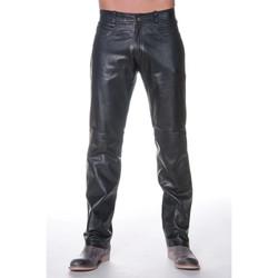 Vêtements Homme Chinos / Carrots Last Rebels PANTALON NORMAL AG BLACK Noir