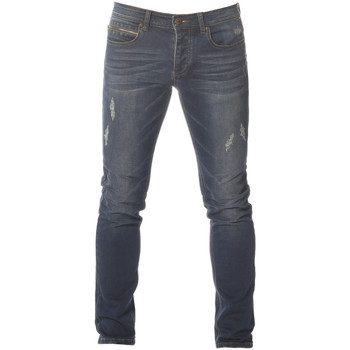 Vêtements Garçon Jeans slim Deeluxe Jean Jean used Worker Blue