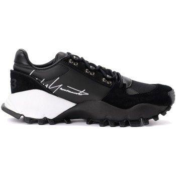 Chaussures Homme Baskets basses Y-3 Sneaker Kyoi Trail in pelle nera con firma laterale Noir