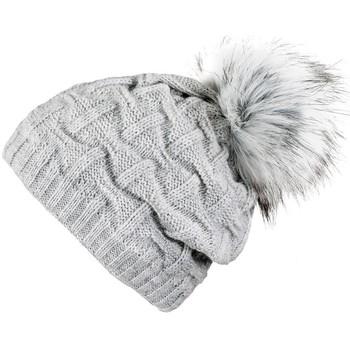 Accessoires textile Femme Bonnets Mokalunga Snood et bonnet Nora Gris