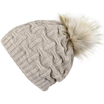 Accessoires textile Femme Bonnets Mokalunga Snood et bonnet Nora Beige