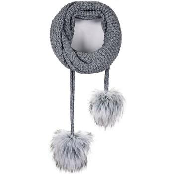 Accessoires textile Femme Echarpes / Etoles / Foulards Mokalunga Echarpe et bonnet Layra Gris