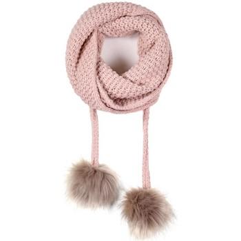 Accessoires textile Femme Echarpes / Etoles / Foulards Mokalunga Echarpe et bonnet Layra vieux-rose