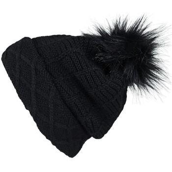 Accessoires textile Femme Bonnets Mokalunga Snood et bonnet Komin Noir