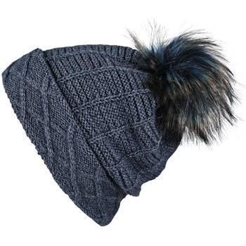 Accessoires textile Femme Bonnets Mokalunga Snood et bonnet Komin Marine