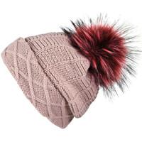 Accessoires textile Femme Bonnets Mokalunga Snood et bonnet Komin vieux-rose