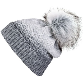 Accessoires textile Femme Bonnets Mokalunga Snood et bonnet Optima Gris