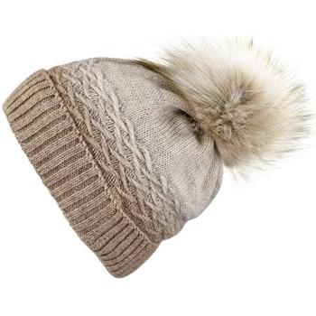 Accessoires textile Femme Bonnets Mokalunga Snood et bonnet Optima Taupe