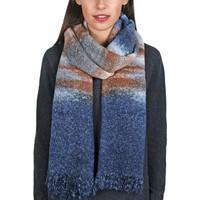 Accessoires textile Femme Echarpes / Etoles / Foulards Allée Du Foulard Echarpe Niebo Bleu