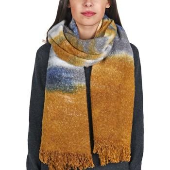 Accessoires textile Femme Echarpes / Etoles / Foulards Allée Du Foulard Echarpe Niebo Moutarde