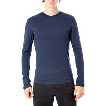 Vêtements Homme T-shirts manches longues Tommy Hilfiger DM0DM04409 bleu