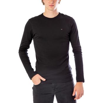 Vêtements Homme T-shirts manches longues Tommy Hilfiger DM0DM04409 Noir