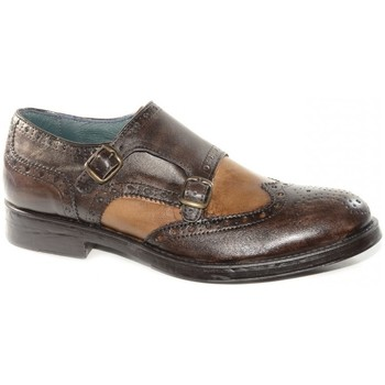Chaussures Homme Derbies & Richelieu Made In Italia CHAUSSURE CHIC 1801 BRUN Multicolor