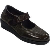 Chaussures Femme Mocassins 48 Horas Merceditas chaussures femme cuir et lycr marrón