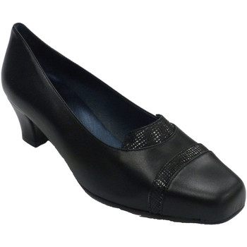 Chaussures Femme Mocassins Trebede Chaussure Femme Serpent  en noir negro