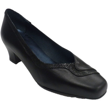 Chaussures Femme Mocassins Trebede Chaussure lounge femme  en noir negro