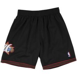 Vêtements Shorts / Bermudas Mitchell And Ness Short NBA Philadelphie 76ers 1 Multicolore