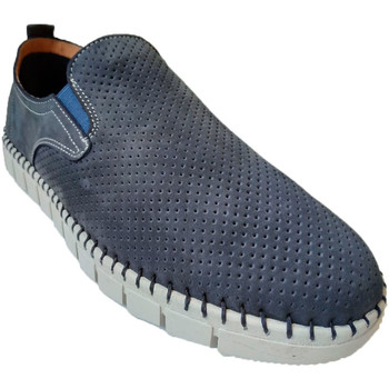 Chaussures Homme Mocassins Primocx Chaussure homme large spécial confortabl azul