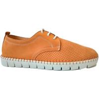 Chaussures Homme Derbies Primocx Lacets homme large spécial confortable s marrón