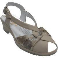 Chaussures Femme Sandales et Nu-pieds Made In Spain 1940 Sandales couchées femmes beigs très à l' beige