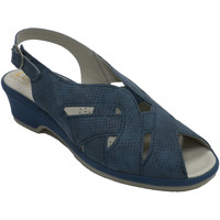 Chaussures Femme Sandales et Nu-pieds Made In Spain 1940 Sandales femme caoutchouc très confortab azul