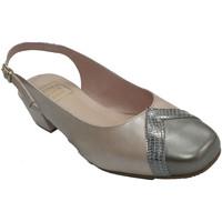Chaussures Femme Sandales et Nu-pieds Roldán Femme chaussure ouverte derrière deux to beige