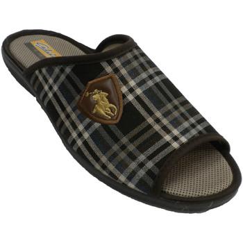 Chaussures Homme Chaussons Aguas Nuevas Homme ouvert tongs orteil et talon Aguas marrón