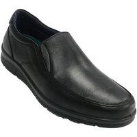 Chaussures Homme Mocassins Pitillos Chaussure hiver homme en caoutchouc sur negro