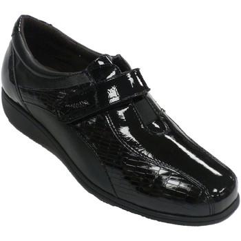 Chaussures Femme Mocassins Doctor Cutillas Chaussure spéciale femme en cuir et seme negro