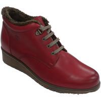Chaussures Femme Boots Pepe Menargues Botte à lacets pour femmes avec doublure rojo