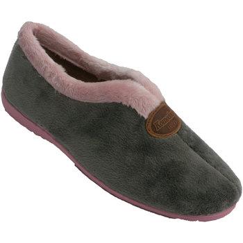 Chaussures Femme Chaussons Made In Spain 1940 Chaussure femme fermée au cou-de-pied So gris