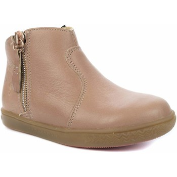 Chaussures Fille Boots Babybotte Alouest rose
