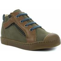 Chaussures Garçon Boots Babybotte Arno vert
