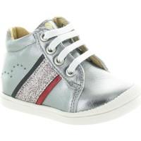 Chaussures Fille Boots Babybotte Faela Argenté