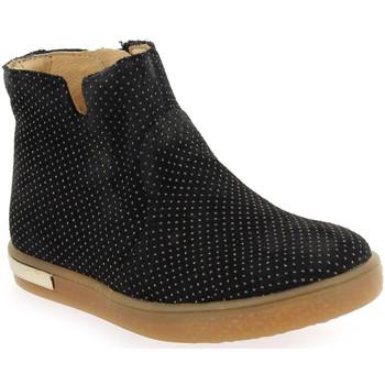 Chaussures Fille Boots Babybotte Anais Noir