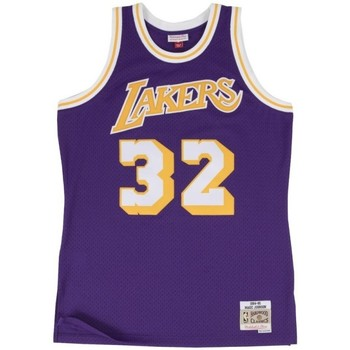 Vêtements Débardeurs / T-shirts sans manche Mitchell And Ness Maillot NBA swingman Magic Joh Multicolore