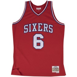Vêtements Débardeurs / T-shirts sans manche Mitchell And Ness Maillot NBA swingman Julius Er Multicolore