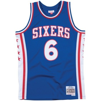 Vêtements T-shirts manches courtes Mitchell And Ness Maillot NBA swingman Julius Er Multicolore