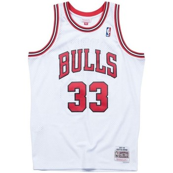 Vêtements Débardeurs / T-shirts sans manche Mitchell And Ness Maillot NBA Scottie Pippen Chi Multicolore