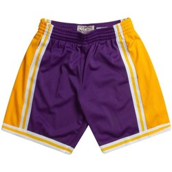Vêtements Shorts / Bermudas Mitchell And Ness Short NBA Los Angeles Lakers 1 Multicolore