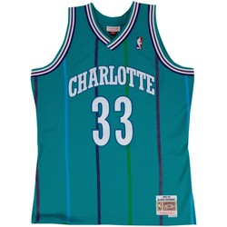 Vêtements Débardeurs / T-shirts sans manche Mitchell And Ness Maillot NBA Alonzo Mourning Ch Multicolore