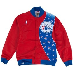 Vêtements Vestes Mitchell And Ness Warm up NBA Philadelphia 76ers Multicolore