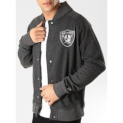 Vêtements Sweats New-Era Veste à pression NFL Oakland R Multicolore